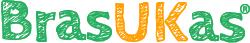 Este é o logo do site BrasUKas®
